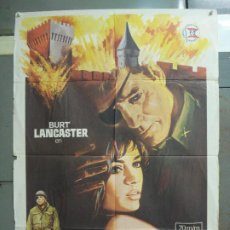 Cine: CDO 6299 LA FORTALEZA BURT LANCASTER PETER FALK POSTER ORIGINAL 70X100 ESTRENO. Lote 221690042