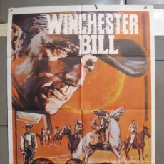 Cine: CDO 6301 WINCHESTER BILL RICHARD WYLER FERNANDO SANCHO SPAGHETTI POSTER ORIGINAL 70X100 ESTRENO. Lote 221694610