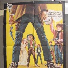 Cine: CDO 6313 LOS PEQUEÑOS COYOTES DE KID O'HARA ANDREA BALESTRI CRISTIANA POSTER ORIGINAL 70X100 ESTRENO. Lote 221704040
