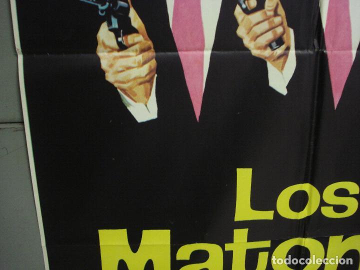 Cine: CDO 6319 LOS MATONES LEX BARKER PIERRE BRICE STEWART GRANGER JANO POSTER ORIGINAL ESTRENO 70X100 - Foto 4 - 221708012