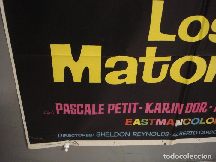 Cine: CDO 6319 LOS MATONES LEX BARKER PIERRE BRICE STEWART GRANGER JANO POSTER ORIGINAL ESTRENO 70X100 - Foto 5 - 221708012