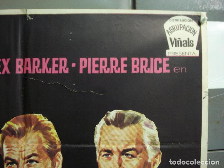 Cine: CDO 6319 LOS MATONES LEX BARKER PIERRE BRICE STEWART GRANGER JANO POSTER ORIGINAL ESTRENO 70X100 - Foto 6 - 221708012