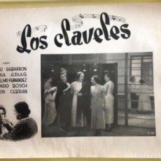Cine: CINE- RARO CARTEL FOTOGRAFICO- 40 X 30 - LOS CLAVELES CA 1930. Lote 221770775