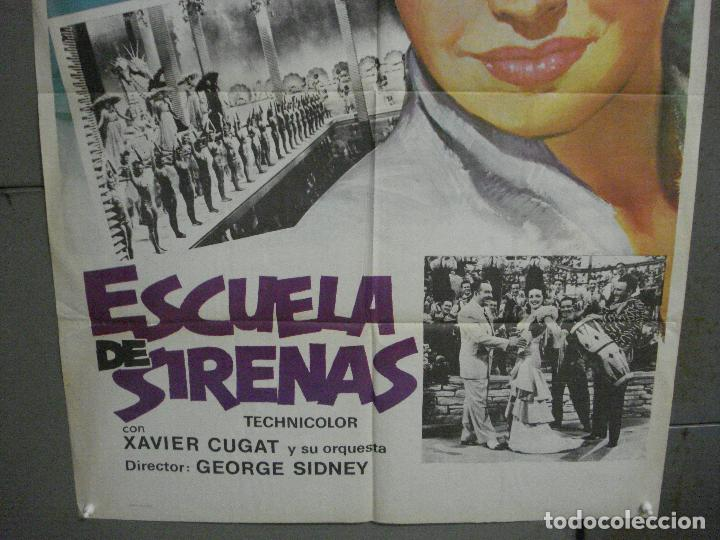 Cine: CDO 6342 ESCUELA DE SIRENAS ESTHER WILLIAMS POSTER ORIGINAL ESPAÑOL 70X100 R-76 - Foto 3 - 221785041