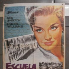 Cine: CDO 6342 ESCUELA DE SIRENAS ESTHER WILLIAMS POSTER ORIGINAL ESPAÑOL 70X100 R-76. Lote 221785041