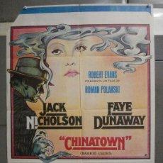 Cine: CDO 6352 CHINATOWN ROMAN POLANSKI JACK NICHOLSON FAYE DUNAWAY POSTER ORIGINAL 70X100 ESTRENO. Lote 221789116