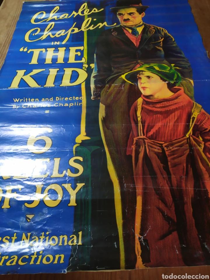 Cine: Cartel película The Kid, Charles Chaplin - Foto 2 - 221793866