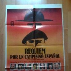 Cine: 4-POS-- POSTER DE LA PELICULA-- REQUIEN POR UN CAMPESINO ESPAÑOL. Lote 221798666