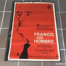 Cine: CARTEL - POSTER DE PELICULA DE CINE ORIGINAL - FRANCO ESE HOMBRE /5. Lote 221804316