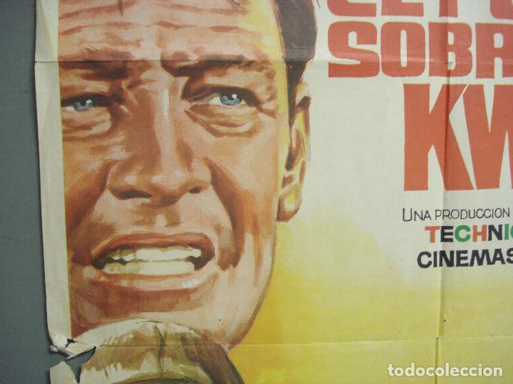 Cine: CDO 6392 EL PUENTE SOBRE EL RIO KWAI DAVID LEAN ALEC GUINNESS WILLIAM HOLDEN JANO POSTER 70X100 R-71 - Foto 3 - 221905550