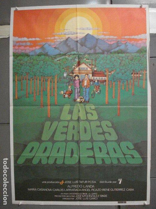 CDO 6423 LAS VERDES PRADERAS ALFREDO LANDA JOSE LUIS GARCI POSTER ORIGINAL 70X100 ESTRENO (Cine - Posters y Carteles - Clasico Español)