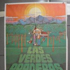 Cine: CDO 6423 LAS VERDES PRADERAS ALFREDO LANDA JOSE LUIS GARCI POSTER ORIGINAL 70X100 ESTRENO. Lote 221923305