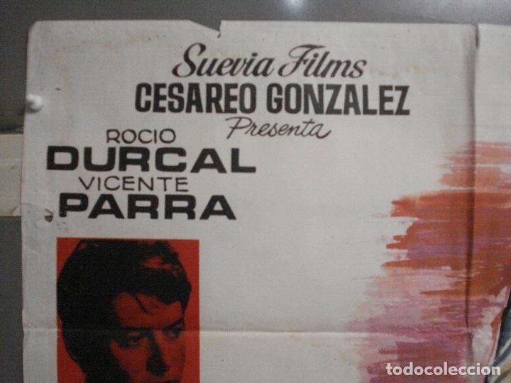 Cine: CDO 6425 BUENOS DIAS CONDESITA ROCIO DURCAL VICENTE PARRA JANO POSTER ORIGINAL ESTRENO 70X100 - Foto 2 - 221926077