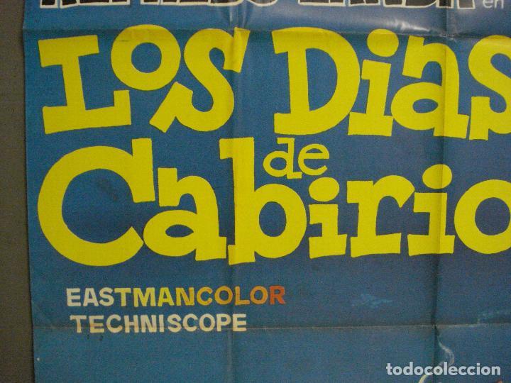Cine: CDO 6430 LOS DIAS DE CABIRIO ALFREDO LANDA JANO POSTER ORIGINAL 70X100 ESTRENO - Foto 3 - 221930395