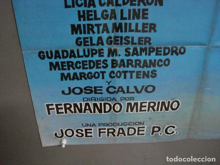Cine: CDO 6430 LOS DIAS DE CABIRIO ALFREDO LANDA JANO POSTER ORIGINAL 70X100 ESTRENO - Foto 5 - 221930395