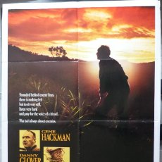 "Cine: PÓSTER DE PELÍCULA BAT 21, 41 ""X 27"" PULGADAS, 1988, GENE HACKMAN, DANNY GLOVER, TRISTAR PICTURES. Lote 221957635"