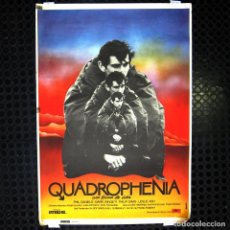 Cine: CARTEL DE LA PELÍCULA QUADROPHENIA, UNA FORMA DE VIDA - 1979 - POSTER - CINE, MOD, THE WHO. Lote 221957960