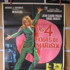 Cine: L2074 LAS 4 BODAS DE MARISOL. Lote 221963130