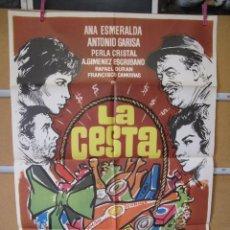 Cine: L2097 LA CESTA. Lote 221965036