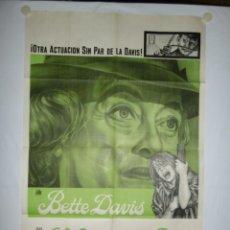 Cine: A MERCED DEL ODIO - 110 X 75 - 1965 - LITOGRAFICO. Lote 221990537
