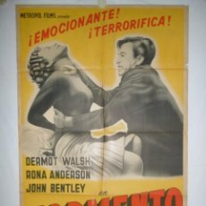 Cine: TORMENTO - 110 X 75 - 1964 - LITOGRAFICO. Lote 221991110