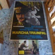 Cine: POSTER DIBUJADO POR MAC + COLECCION COMPLETA DE POSTALES. Lote 222047832