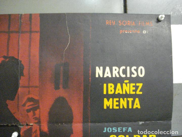 Cine: CDO 6472 PROCESADO 1040 NARCISO IBAÑEZ MENTA WALTER VIDARTE POSTER ORIGINAL 70X100 ESTRENO - Foto 6 - 222047935