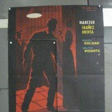 Cine: CDO 6472 PROCESADO 1040 NARCISO IBAÑEZ MENTA WALTER VIDARTE POSTER ORIGINAL 70X100 ESTRENO. Lote 222047935
