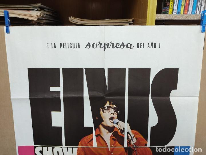 Cine: ELVIS- SHOW ASÍ ES COMO ES ELVIS PRESLEY , AÑO 1971 POSTER ORIGINAL - Foto 2 - 222047985