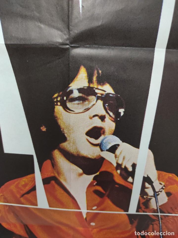 Cine: ELVIS- SHOW ASÍ ES COMO ES ELVIS PRESLEY , AÑO 1971 POSTER ORIGINAL - Foto 4 - 222047985