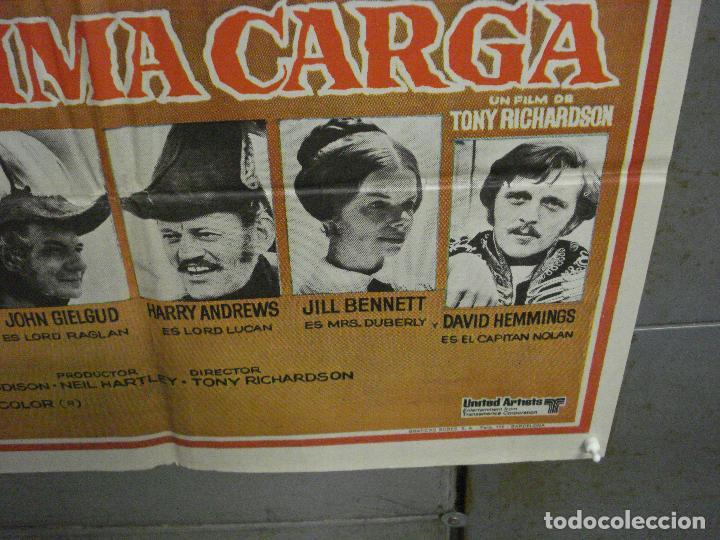 Cine: CDO 6477 LA ULTIMA CARGA TONY RICHARDSON POSTER ORIGINAL 70X100 ESTRENO - Foto 9 - 222052848