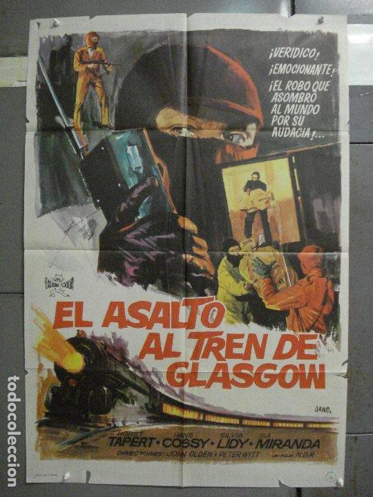 CDO 6479 ASALTO AL TREN DE GLASGOW POSTER ORIGINAL 70X100 ESTRENO (Cine - Posters y Carteles - Acción)
