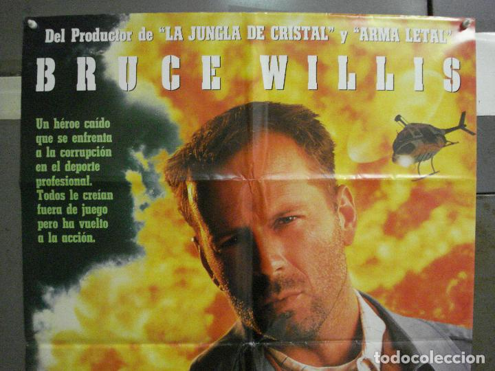 Cine: CDO 6480 EL ULTIMO BOY SCOUT BRUCE WILLIS DAMON WAYANS POSTER ORIGINAL 70X100 ESTRENO - Foto 2 - 222057436