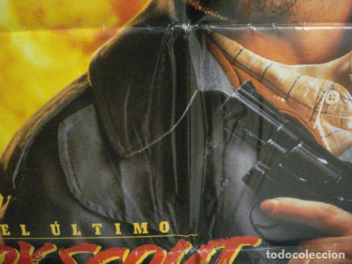 Cine: CDO 6480 EL ULTIMO BOY SCOUT BRUCE WILLIS DAMON WAYANS POSTER ORIGINAL 70X100 ESTRENO - Foto 4 - 222057436