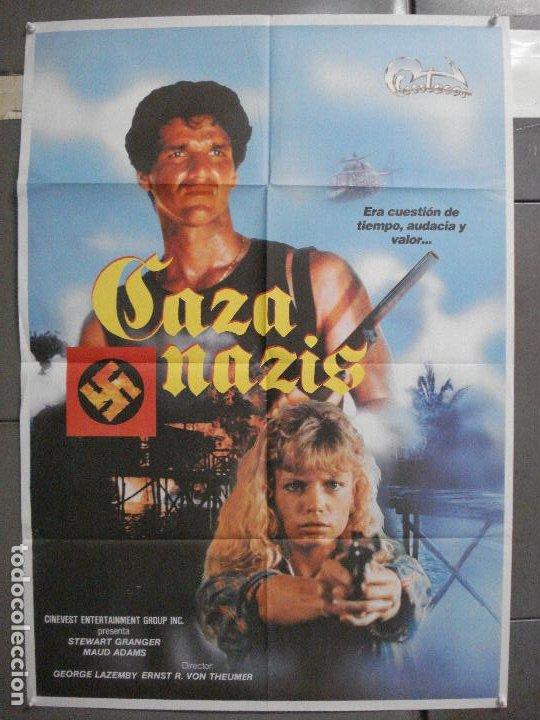 CDO 6482 CAZA NAZIS MAUD ADAMS STEWART GRANGER POSTER ORIGINAL 70X100 ESTRENO (Cine - Posters y Carteles - Acción)