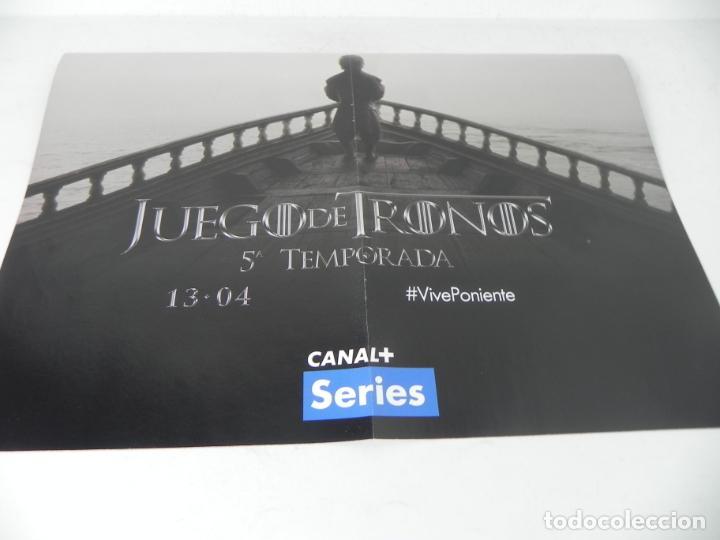 Cine: POSTER A 2 CARAS (VENGADORES LA ERA DE ULTRÓN / JUEGO DE TRONOS 5ª TEMPORADA - Foto 6 - 222065795