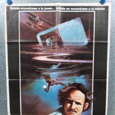 Cine: LA NOCHE SE MUEVE. GENE HACKMAN, JENNIFER WARREN, MELANIE GRIFFITH. AÑO 1976. POSTER ORIGINAL. Lote 222078225