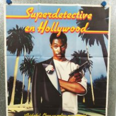 Cinema: SUPERDETECTIVE EN HOLLYWOOD. EDDIE MURPHY, JUDGE REINHOLD, JOHN ASHTON. AÑO 1985. POSTER ORIGINAL. Lote 222080043