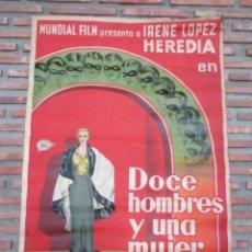 Cine: DOCE HOMBRES Y UNA MUJER.113. Lote 222080366