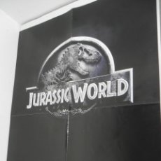 Cine: POSTER A 2 CARAS (JURASSIC WORLD / POWERS). Lote 222104240