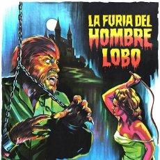 Cine: LA FURIA DEL HOMBRE LOBO.PAUL NASCHY.ORIGINAL SPANISH.1975. Lote 222231747