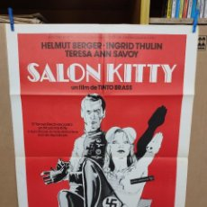 Cine: SALÓN KITTY. HELMUT BERGER-INGRID THULIN-TINTO BRASS. CARTEL ORIGINAL 1978. 70X100. Lote 222316355