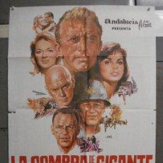 Cine: CDO 6503 LA SOMBRA DE UN GIGANTE FRANK SINATRA JOHN WAYNE JANO POSTER ORIGINAL 70X100 ESTRENO. Lote 222375463