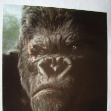 Cine: KING KONG, CON NAOMI WATTS. PÓSTER PROMOCIONAL 68 X 95,5 CMS.2005.. Lote 222413193