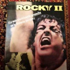 Cine: ROCKY II SYLVESTER STALLONE POSTER ORIGINAL 70 X100. Lote 42542200