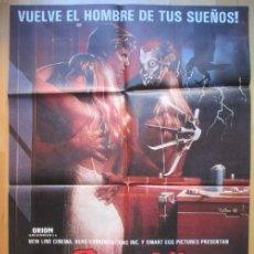 Cine: CARTEL CINE PESADILLA EN ELM STREET 2 LA VENGANZA DE FREDDY 1985 C1927. Lote 222446362