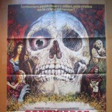 Cine: CARTEL CINE CONDENADOS DE ULTRATUMBA JOAN COLLINS MAC 1973 C1928. Lote 222446492