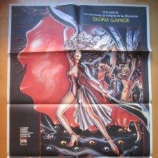 Cine: CARTEL CINE NOCTURNA LA NIETA DEL CONDE DRACULA GLORIA GAYNOR 1980 C1929. Lote 222447047