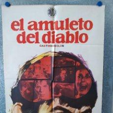 Cine: EL AMULETO DEL DIABLO. LEONARD NIMOY, RACHEL ROBERTS, SUSAN HAMPSHIRE. AÑO 1973. POSTER ORIGINAL. Lote 222451647