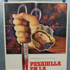 Cine: PESADILLA EN LA NIEVE. PATTY DUKE, ROSEMARY MURPHY, RICHARD THOMAS AÑO 1973 POSTER ORIGINAL. Lote 222452013